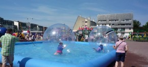 bassin avec bulle